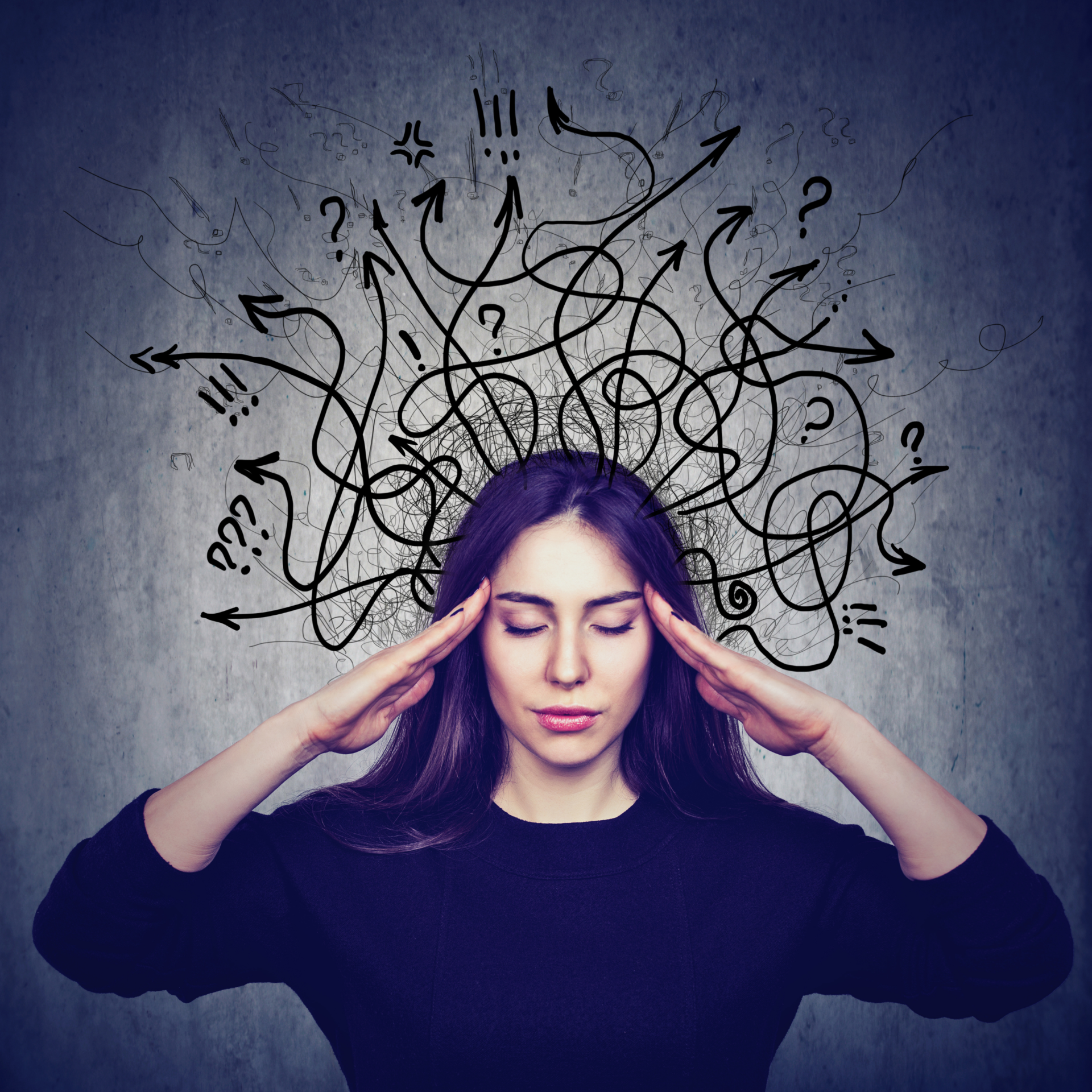 gestion du stress femme
